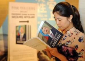 Aliyev'in kitabı Çinceye çevrildi
