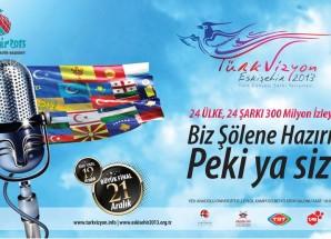 Türkvizyon temsilcileri Eskişehir sokaklarında sevgi gösterisinde bulundu