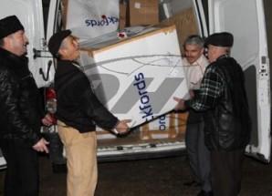 Dünyaca ünlü Kırımlı yazar Cengiz Dağcı'nın özel eşyaları, vatanına getirildi