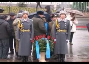 Kazakistan'da 'Jeltoksan' (Aralık) kurbanları anıldı