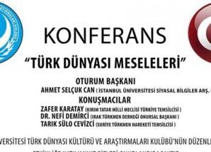 Kocaeli Üniversitesi'nde Türk Dünyası ve Kırım konferansı