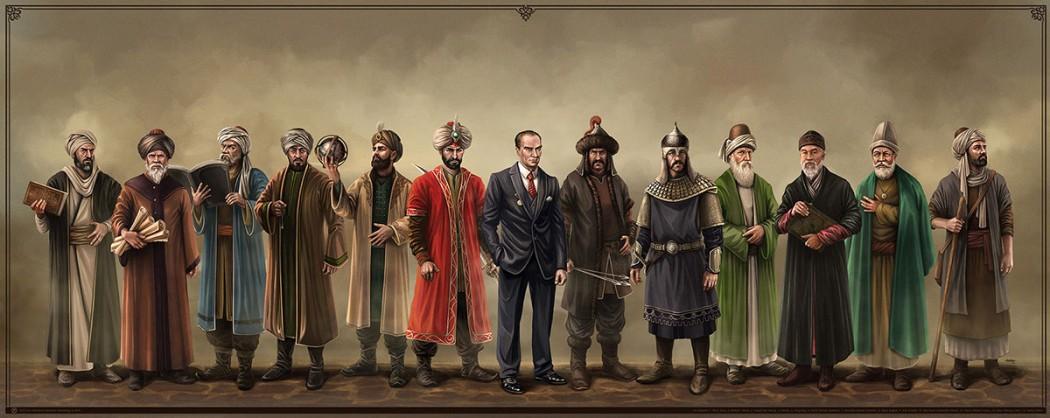 türk alim ve hükümdarlar