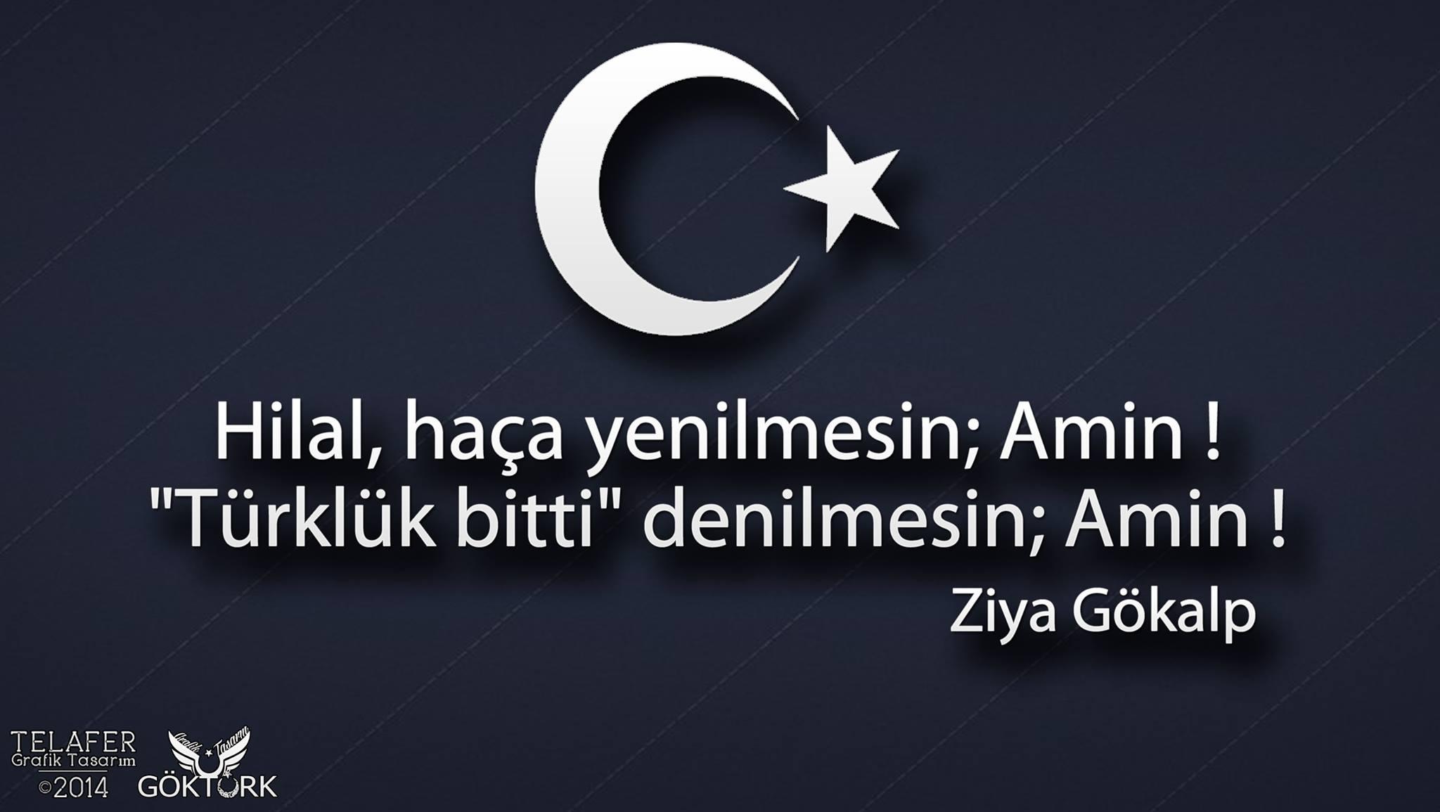 türklük bitti denilmesin amin -kapak