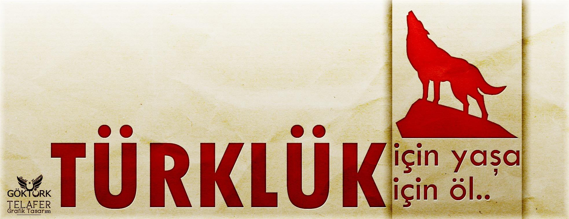 türklük için yaşa -kapak